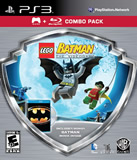 Lego Batman The Videogame with Batman Movie Combo Pack PS3