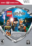 Lego Harry Potter Years 1-4 with Harry Potter and the Sorcerer's Stone Movie Combo Pack WII