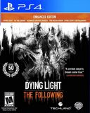 Dying Light: Following Enhanced Ed Playstation Greatest Hits PS4