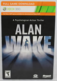 Alan Wake Full Game Download Code Xbox 360