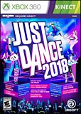 Just Dance 2018 Xbox 360