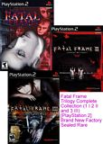Fatal Frame Trilogy Complete Collection PS2
